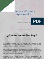 Taller 2 Para Padres y dos Familia Aceptacion y Redes de Apoyos