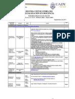 Proceso de selección Especialización en Docencia 2012-2013
