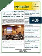 Facultad Educacìon - Newsletter 5
