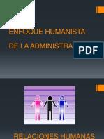 Enfoque Humanista de La Admin is Trac Ion