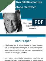 A perspectiva falsificacionista do método ciêntifico - FILOSOFIA
