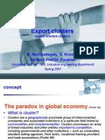 Export Clusters
