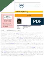 OTP Weekly Briefing_5-13 September 2011 #99
