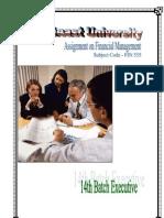 Financial Management - 01