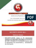 Presentacion Security Zone 2011 Resumen