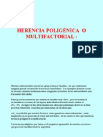 Herencia Poligenica o Multi Factorial