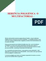Herencia Poligenica o Multi Factorial
