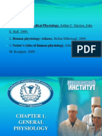 Chapter 1. General Physiology