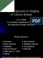 Etiopathogenesis & Staging of Cancer Breast