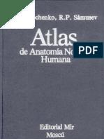Atlas de Anatomia Normal Humana Lipchyenko-Samusyev (URSS)