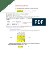 Ecuaciones de Segundo Grado o Cuadraticas