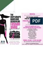 Downtown Fashion Show 2011