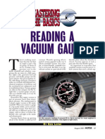 Reading a Vacuum Gauge