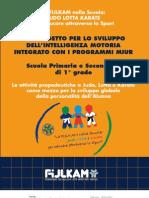 Manuale Progetto Sport a Scuola FIJLKAM