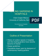 Healing Gardens in Hospitals - Clare Cooper Marcus