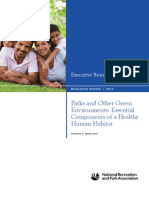 Parks and Other Green Environments