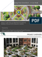Planning Your Green Roof - Shady Grove Adventist Hospital Healing Garden