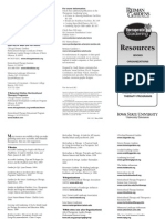 Resource List for Therapeutic Garden - Books, Organizations - Iowa State University