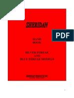Sheridan Blue Streak Owners Manual