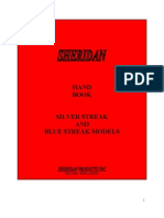 Sheridan Blue Streak Owners Manual