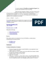 Descargar Y Configurar WordPress