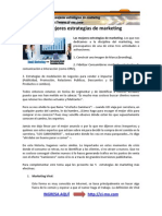 Mejores Estrategias de marketing en Internet
