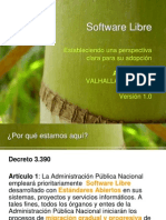 Valhalla Project Software Libre 1 0