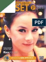 BUSET Vol.07-81. MARET 2012