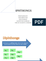 Diphthongs