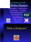 What is Hinduism & Yoga