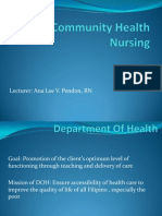 Community Health Nursing - Presentation