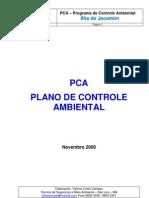 PCA - Curso de Meio Ambiente Ilha de Jacamim - Novembro 2009