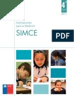 Folleto de Orientaciones SIMCE 2011 4to Basico