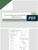 Funciones trigonométricas directas VII