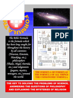 The Formula of formulas by Periander A. Esplana
