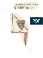 King Arthur Paper Doll