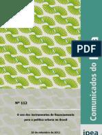 Comunicado do Ipea - 2011 - Setembro - nº 112