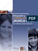 Educación y Conflicto Armado Nunca Más! Para Web
