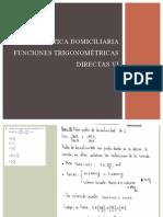 Practica domiciliaria funciones trigonométricas directas VI