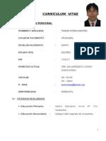 Curriculum Vitae Doroteo