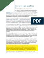 STJ Fixa Em Cinco Anos Prazo Para Fisco Cobrar