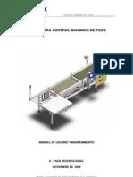 Manual Control Dinamico de Peso