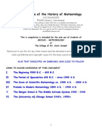 Sejarah Meteorology