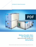 2010 Double Skin Air Handling Unit