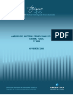 Analisis de Material Promocional Turismo Rural FIT2008 2009 11