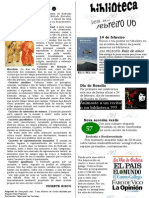 Boletín Febreiro
