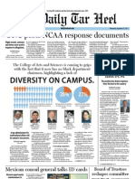 The Daily Tar Heel for September 21, 2011