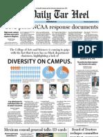 The Daily Tar Heel for September 21, 2011