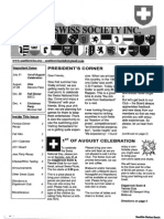 Seattle Swiss Society Newsletter - July 2011