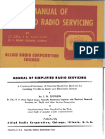 Allied Manual of Servicing